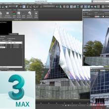 طراح معماری با نرم افزار 3D-MAX